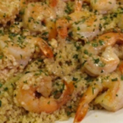Garlic Butter Shrimp & Quinoa