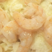Shrimp Pasta with Cauliflower Alfredo Sauce