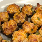 Jalapeno Cheddar Stuffed Mushrooms