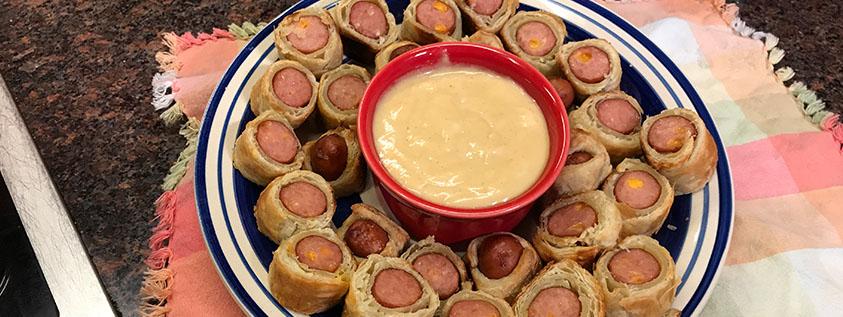 Smoked Sausage Rolls