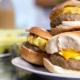 breakfast bagel sandwiches